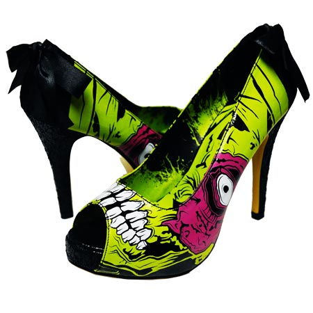 iron fist zombie shoes